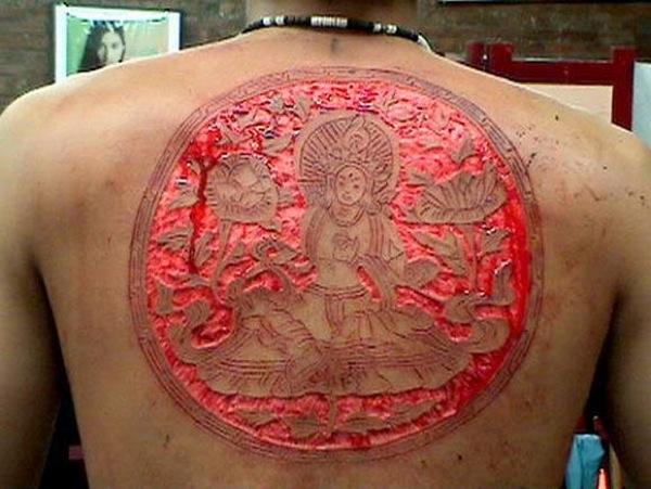 Scarification Tattoos